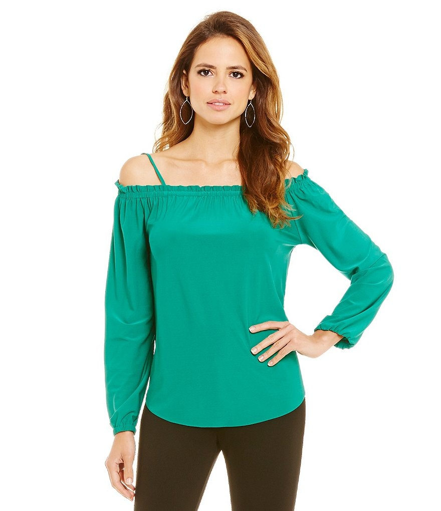 Gianni Bini Florence Off-the-Shoulder Knit Top