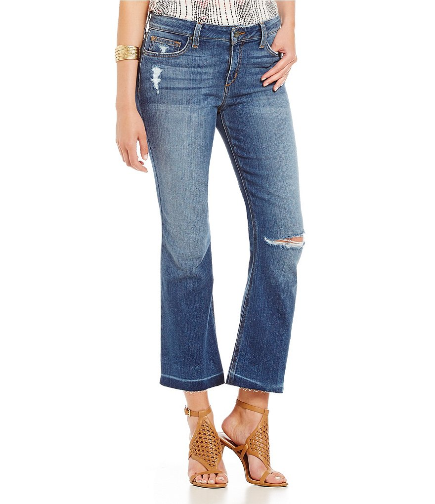 Joe´s Jeans Olivia Madrid Crop Flare Jeans