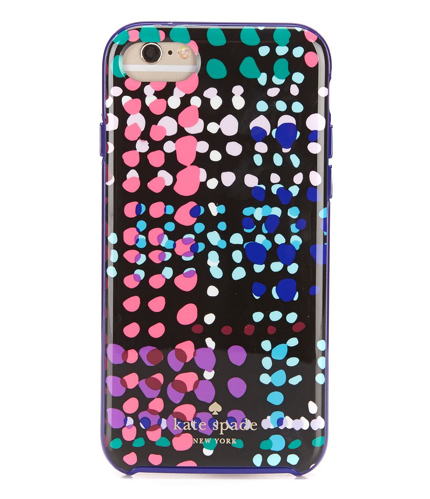 kate spade new york Dotty Plaid iPhone 7 Case