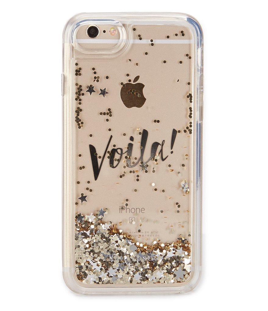 kate spade new york Liquid Glitter Voila iPhone 7 Case