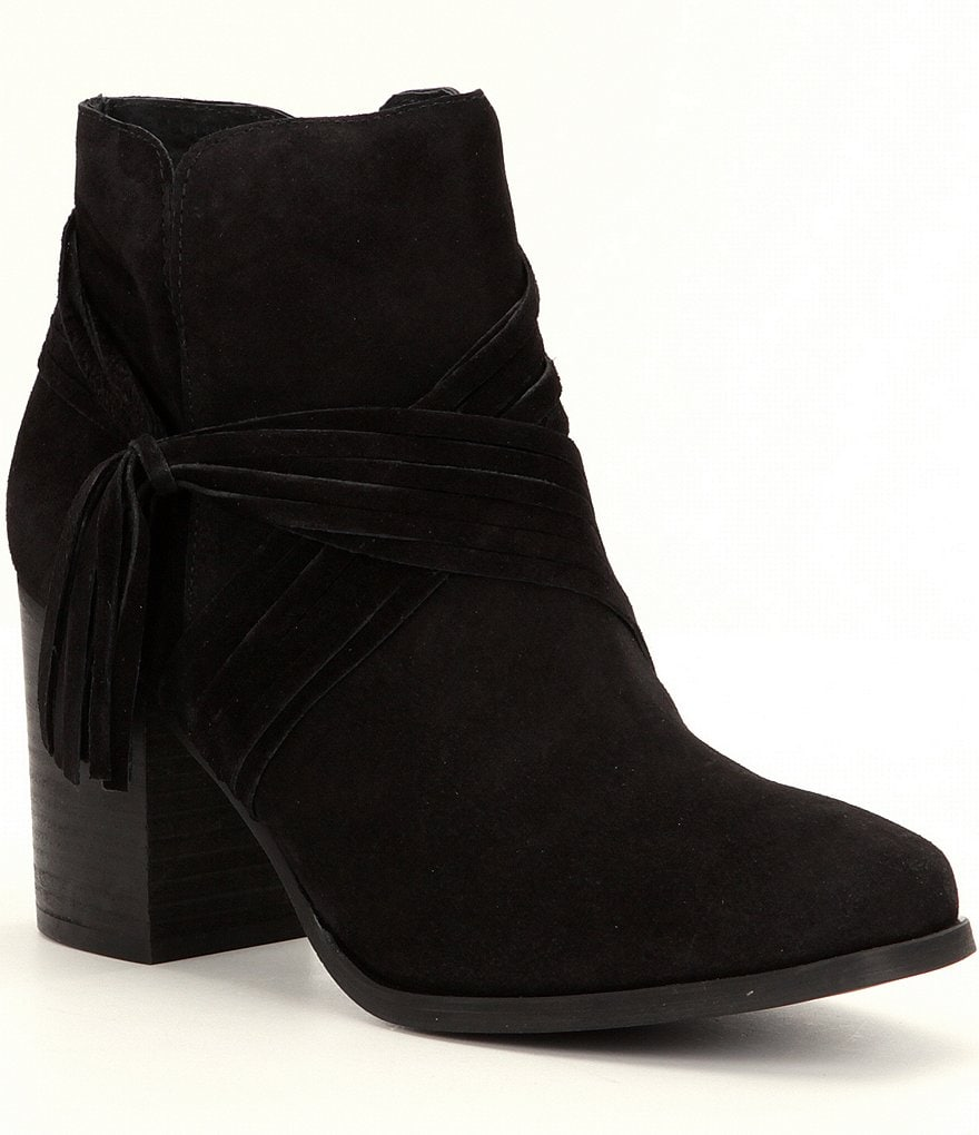 Coolway Luddie Block Heel Booties