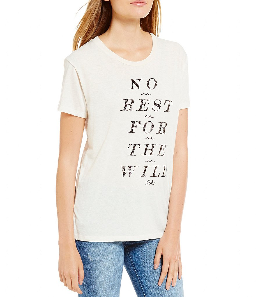 Billabong No Rest For The Wild Short-Sleeve Graphic Tee