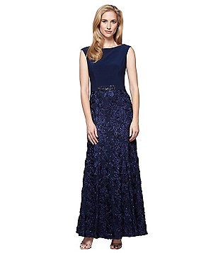 Alex Evenings Embellished Sleeveless Gown