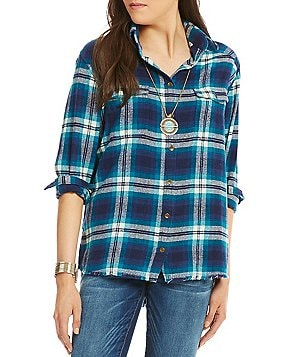 Billabong Wild Adventure Plaid Flannel Shirt