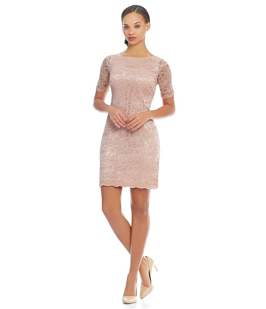 Alex Marie Romantic Semantics Merve Lace Dress