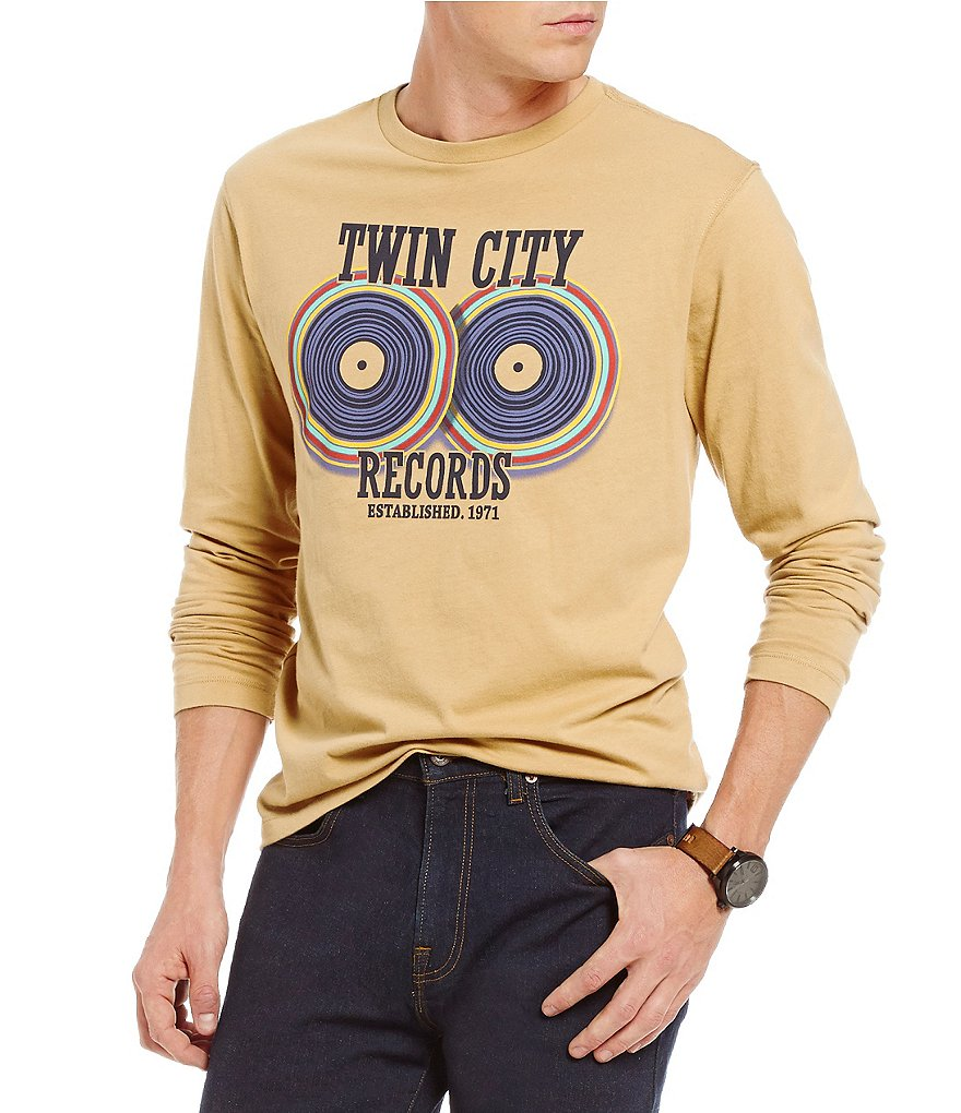 Cremieux Jeans Long-Sleeve Twin City Graphic Tee