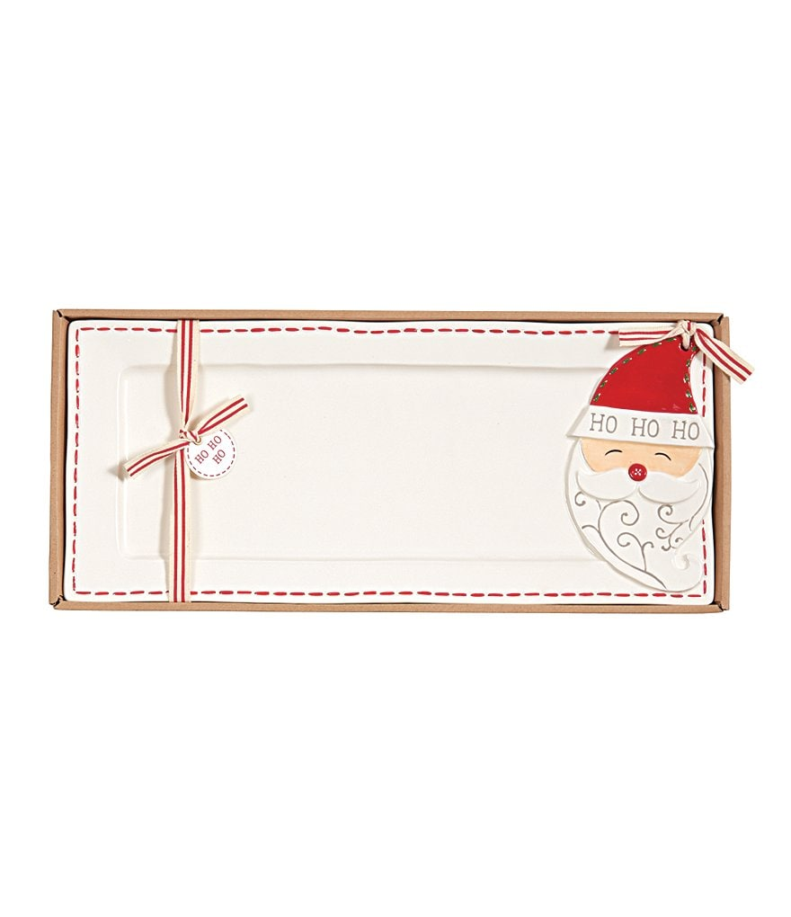 Mud Pie Holiday Ho Ho Ho Santa Hostess Tray