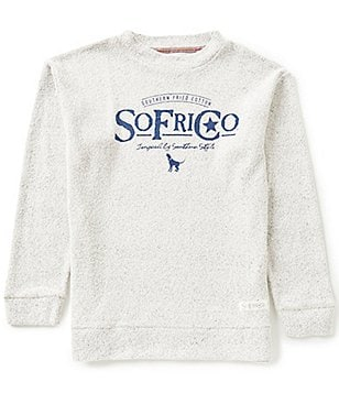 Southern Fried Cotton SoFriCozy Hound Crew Pullover