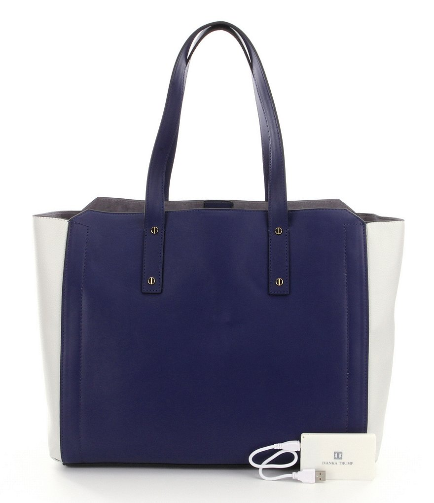 Ivanka Trump Soho Solutions Color Block Work Tote