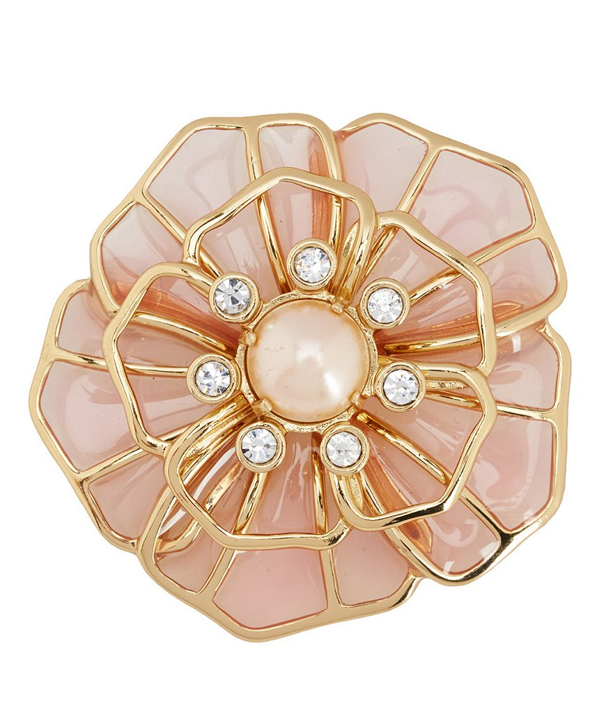 kate spade new york Sunset Blossoms Flower Brooch