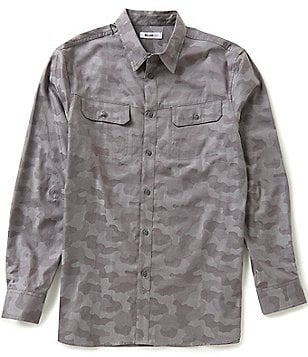 William Rast Baker Camo Print Shirt