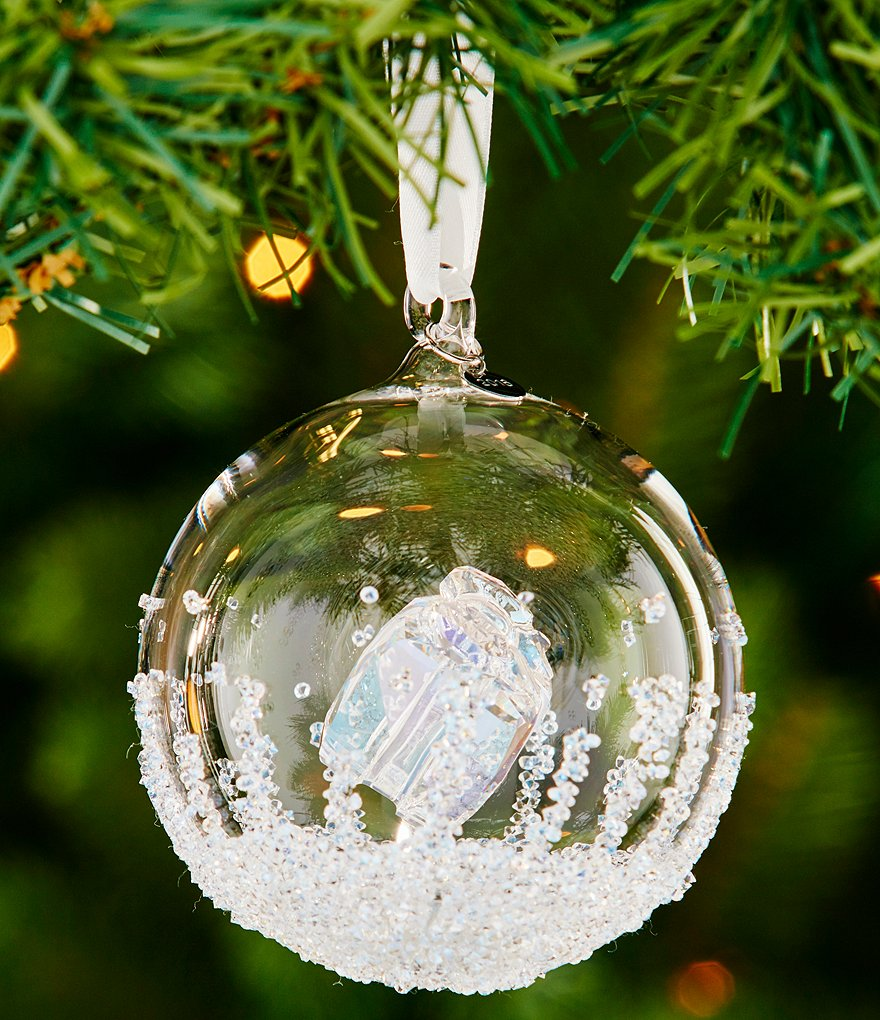 Swarovski 2016 Annual Edition Crystal Christmas Ball Ornament