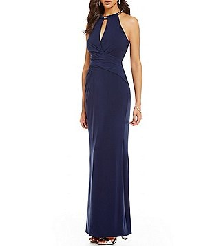 Laundry By Shelli Segal Keyhole Gown