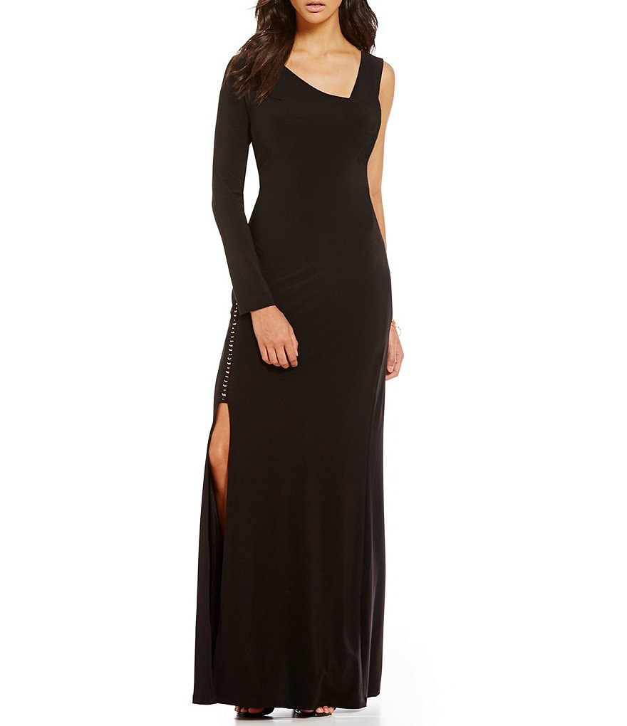 Laundry By Shelli Segal One Sleeve Gown