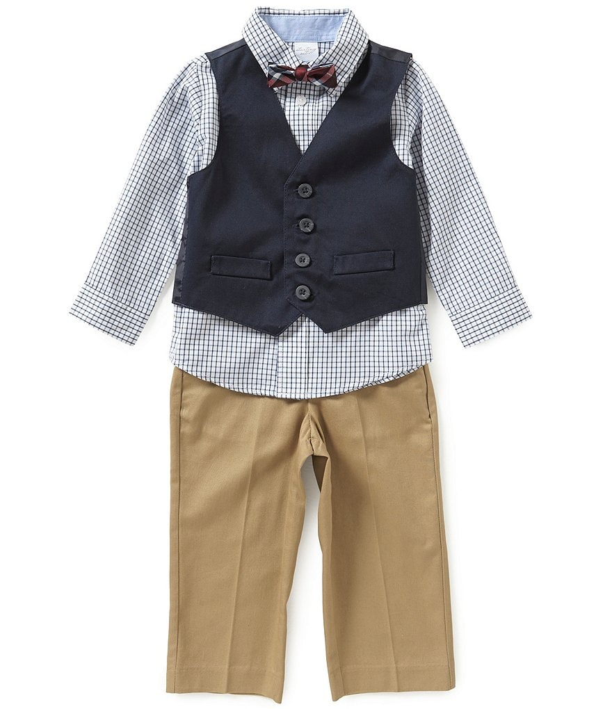 Starting Out Baby Boys 3-24 Months 3-Piece Vest and Pants Set