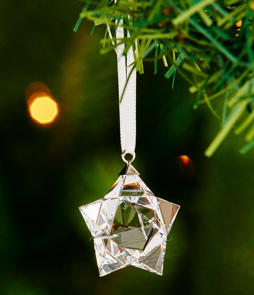Swarovski Small Star Crystal Ornament