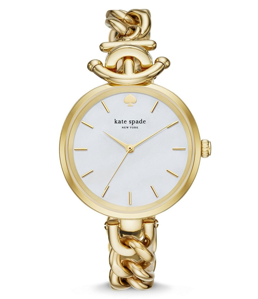 kate spade new york Holland Anchor Analog Bracelet Watch