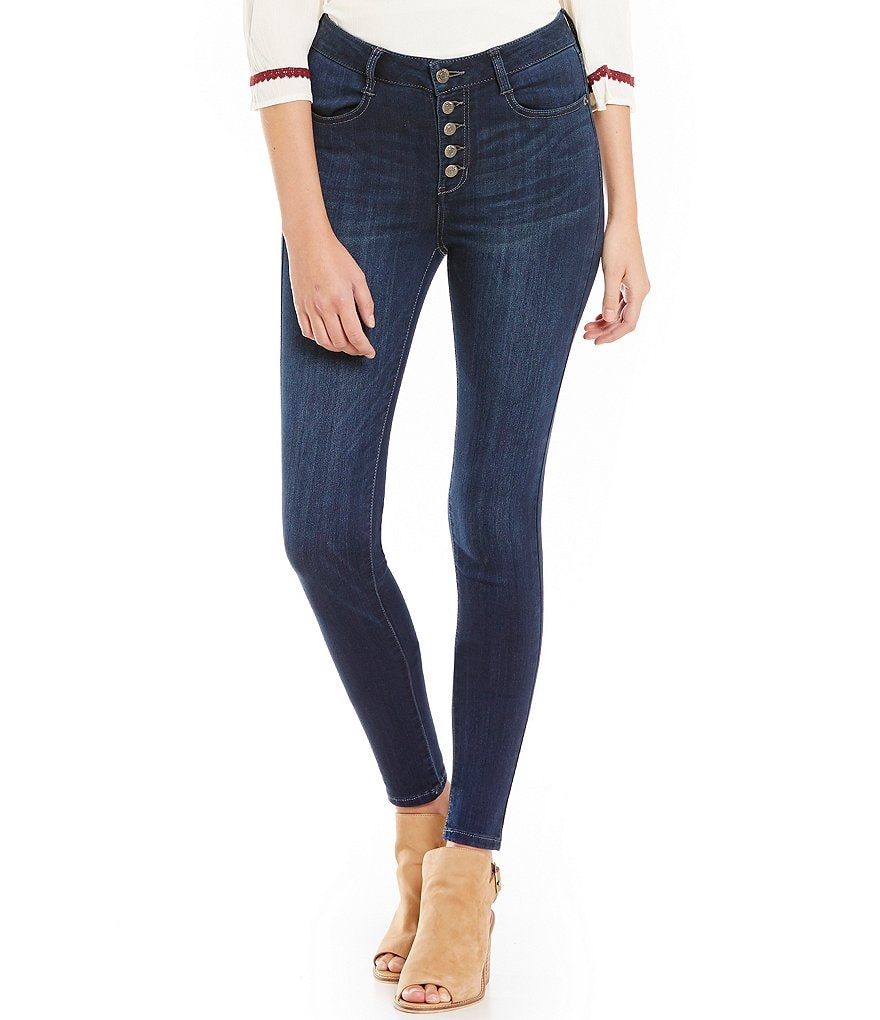Celebrity Pink High-Rise Skinny Jeans