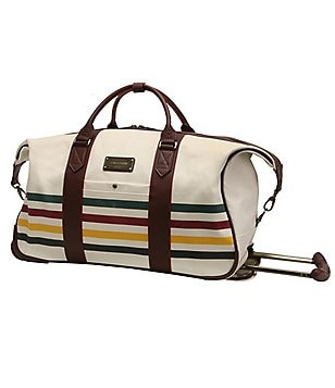 "Pendleton National Park Collection Glacier Park 22"" Wheeled Carry-On Duffel"