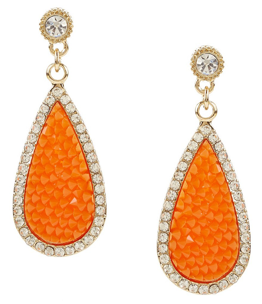 Anna & Ava Naples Drop Statement Earrings