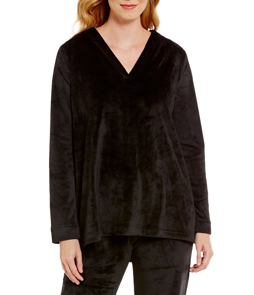 N by Natori Velour Swing Sleep Top