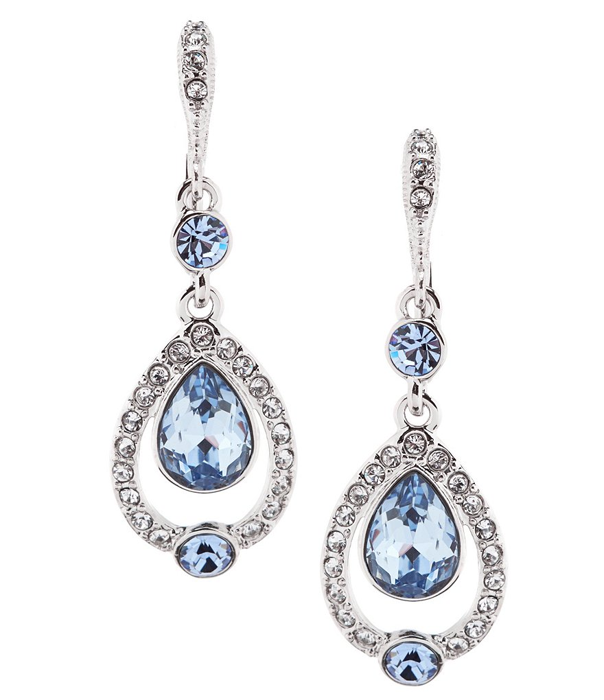 Givenchy Open Pear Drop Earrings