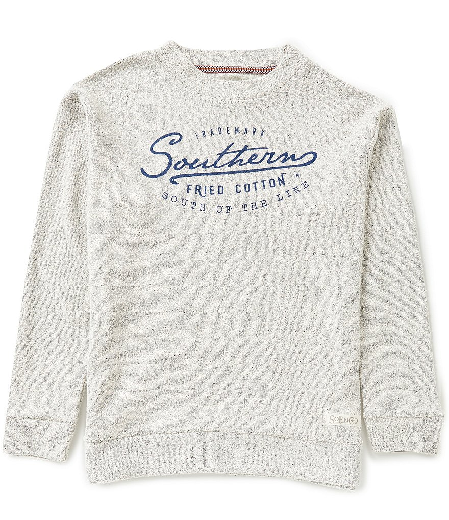 Southern Fried Cotton SoFriCozy Trademark Crew Pullover