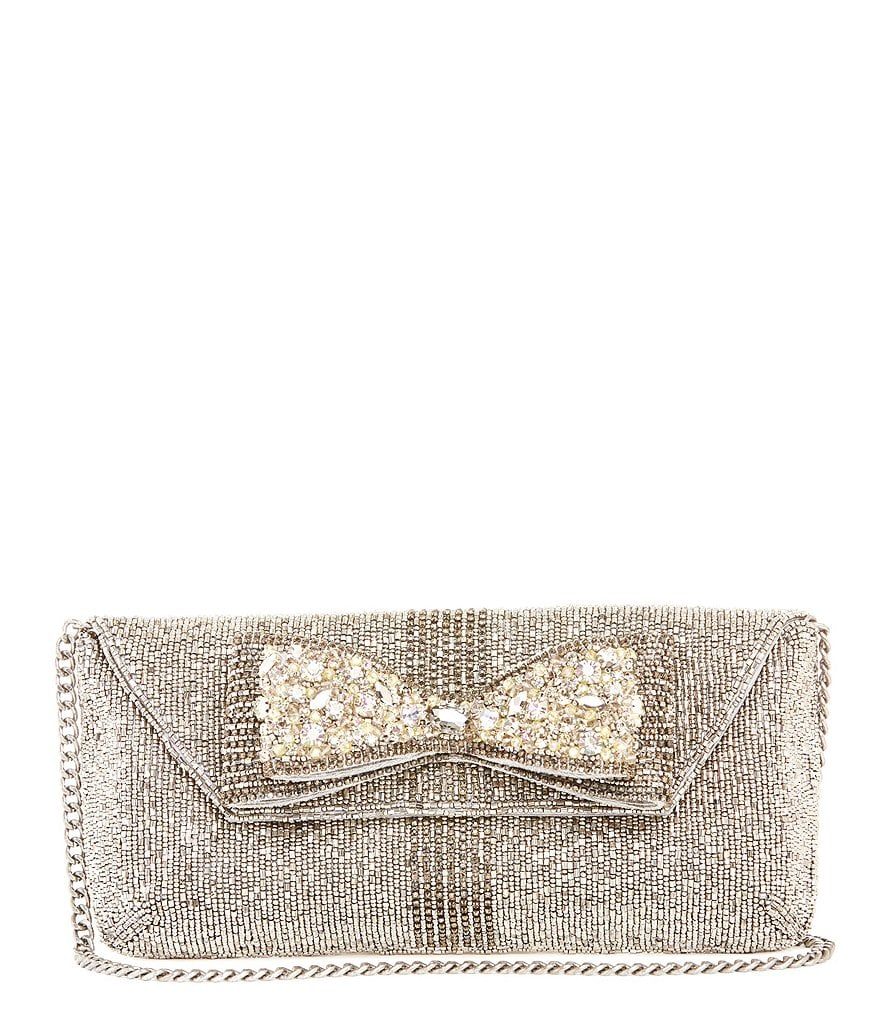 Mary Frances Meteorite Bow Clutch