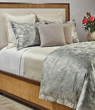 The Art of Home from Ann Gish Terrazzo Metallic Marbled Duvet Mini Set