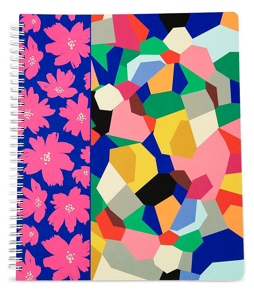 Vera Bradley Three-Subject Notebook with Pockets