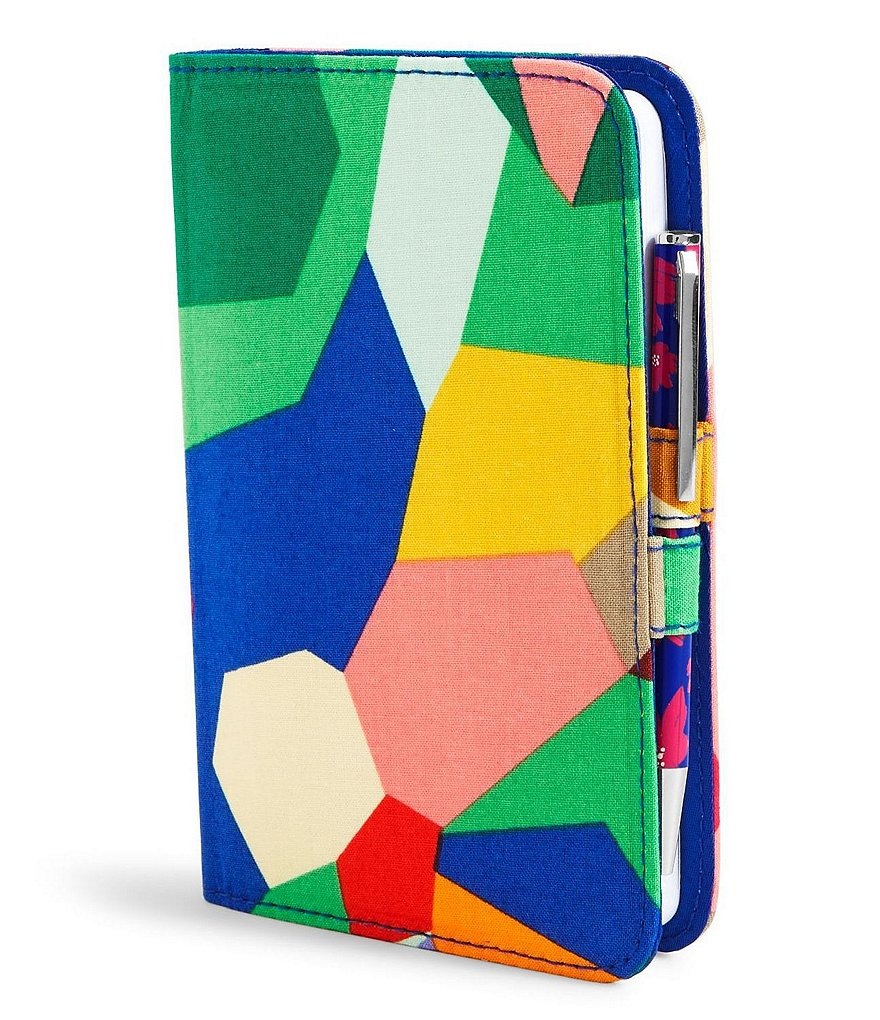Vera Bradley Fabric Mini Journal with Pen