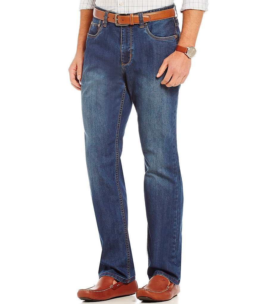 Tommy Bahama Big & Tall Sorrento Authentic Straight-Fit Jeans