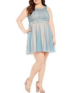 Juniors Plus Size Prom Amp Formal Dresses Dillards