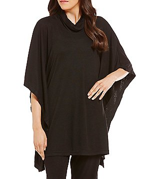 N by Natori Turtleneck Lounge Poncho