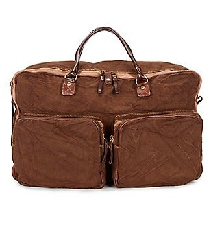 Beretta Washed Canvas & Leather Travel Bag