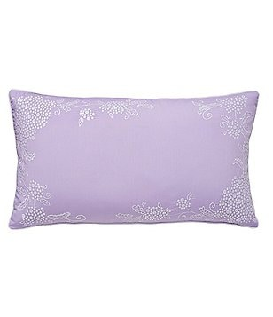 Dena Home Amara Floral-Embroidered Breakfast Pillow
