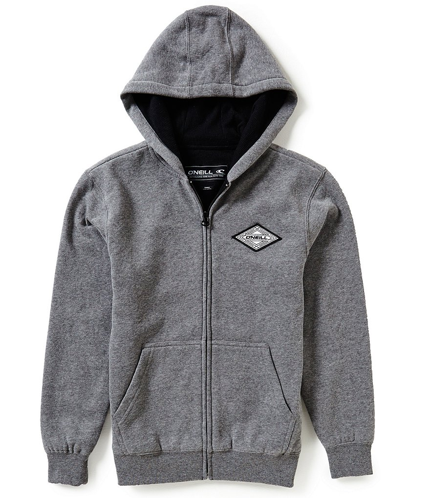 O'Neill Big Boys 8-20 Westport Thermal Zip-Front Hoodie