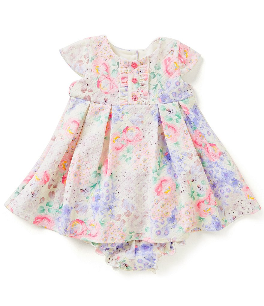 Pippa & Julie Baby Girls 12-24 Months Printed Scuba Dress