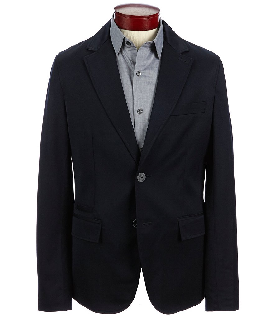 Armani Exchange Solid Blazer