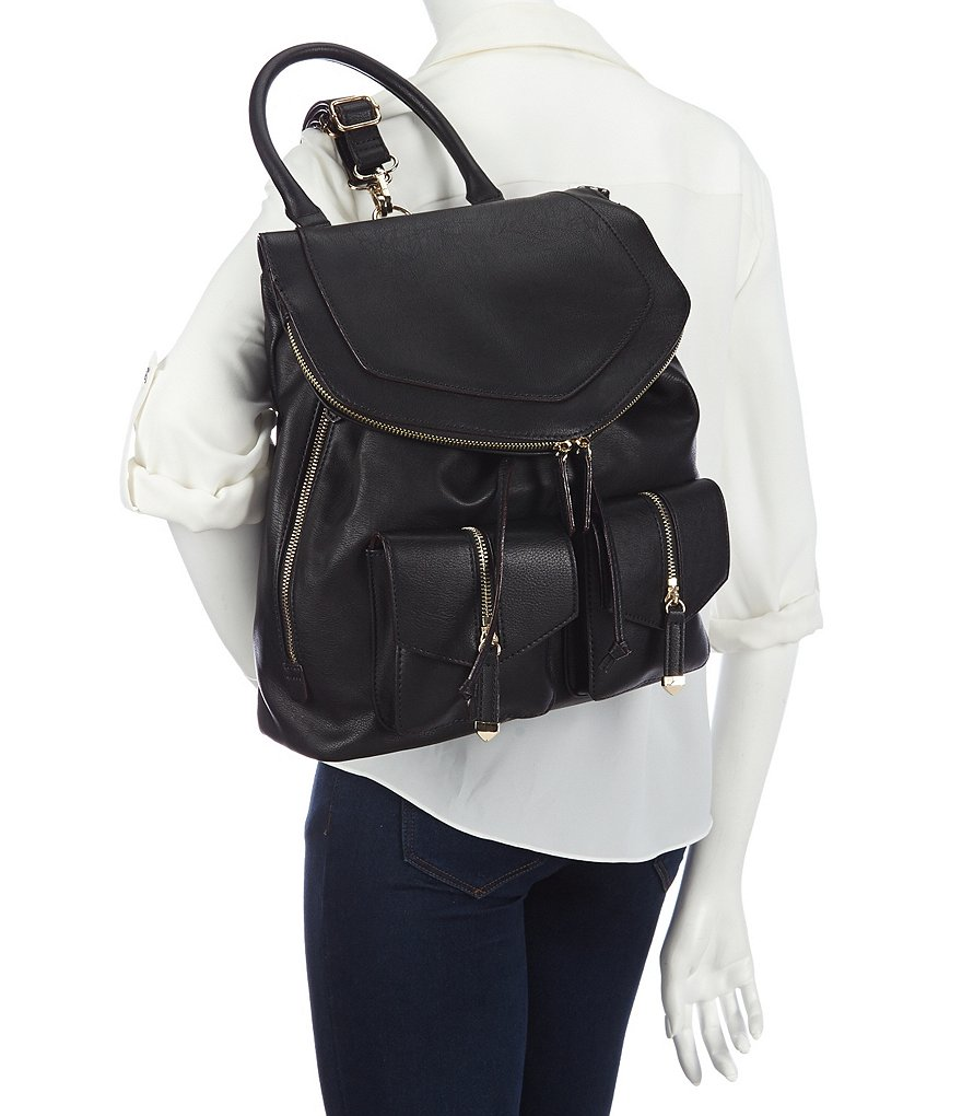 Black:Gianni Bini Izzy Backpack