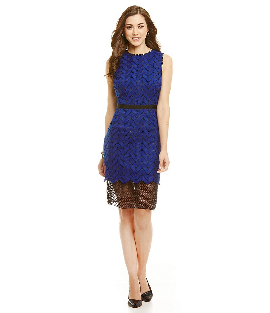 Antonio Melani Halloway Lace Sheath Dress