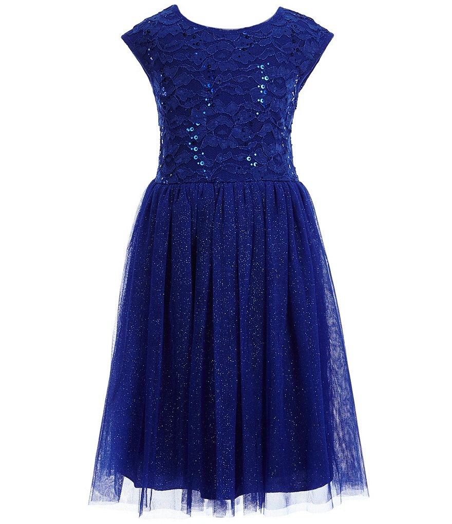 Xtraordinary Little Girls 4-6X Sequin-Lace Dress