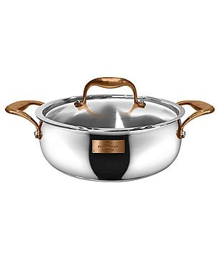 Fleischer and Wolf Paris Series Stainless Steel Sauteuse with Lid
