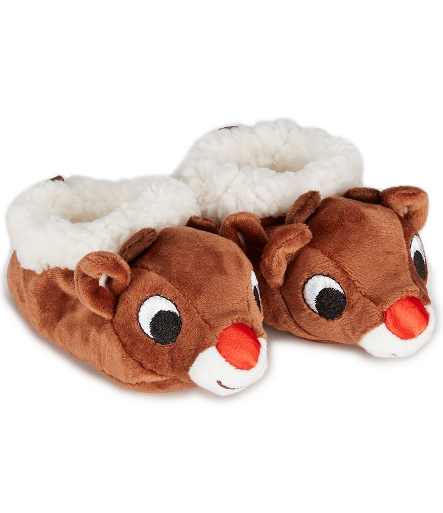 Baby Starters Newborn-6 Months Christmas Rudolph Booties