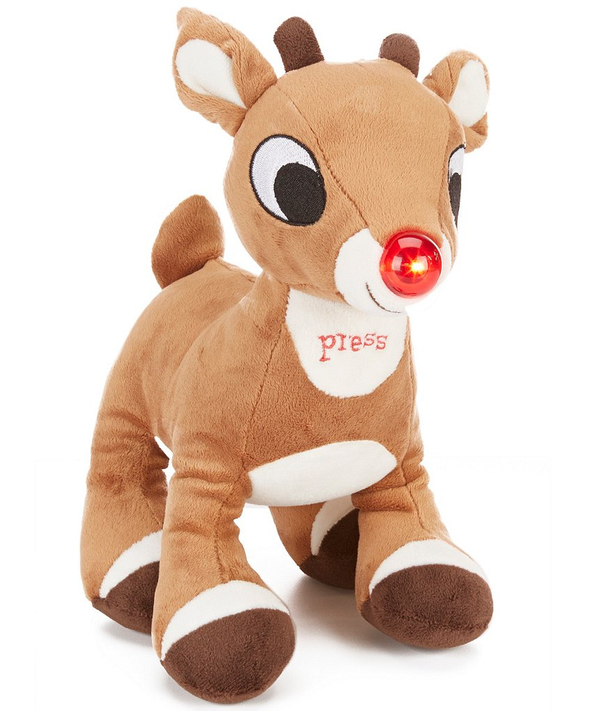 Baby Starters Christmas Musical Rudolph Light-Up Toy
