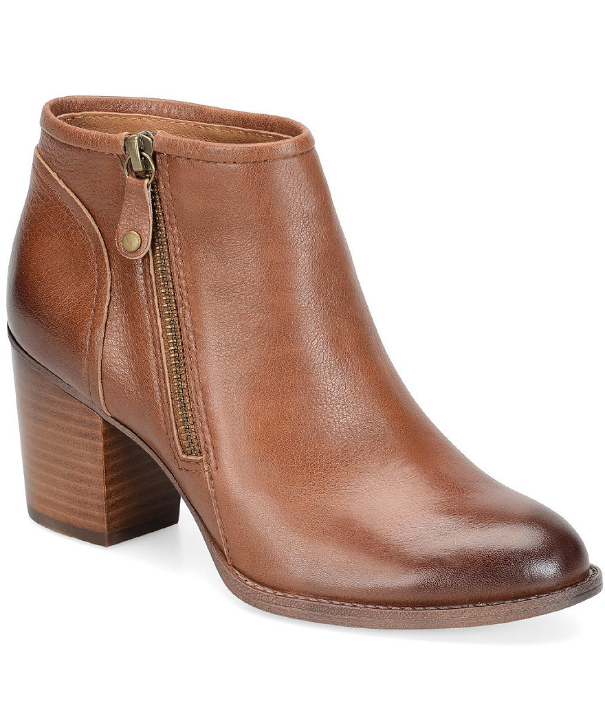 Sofft Wesley Leather Booties