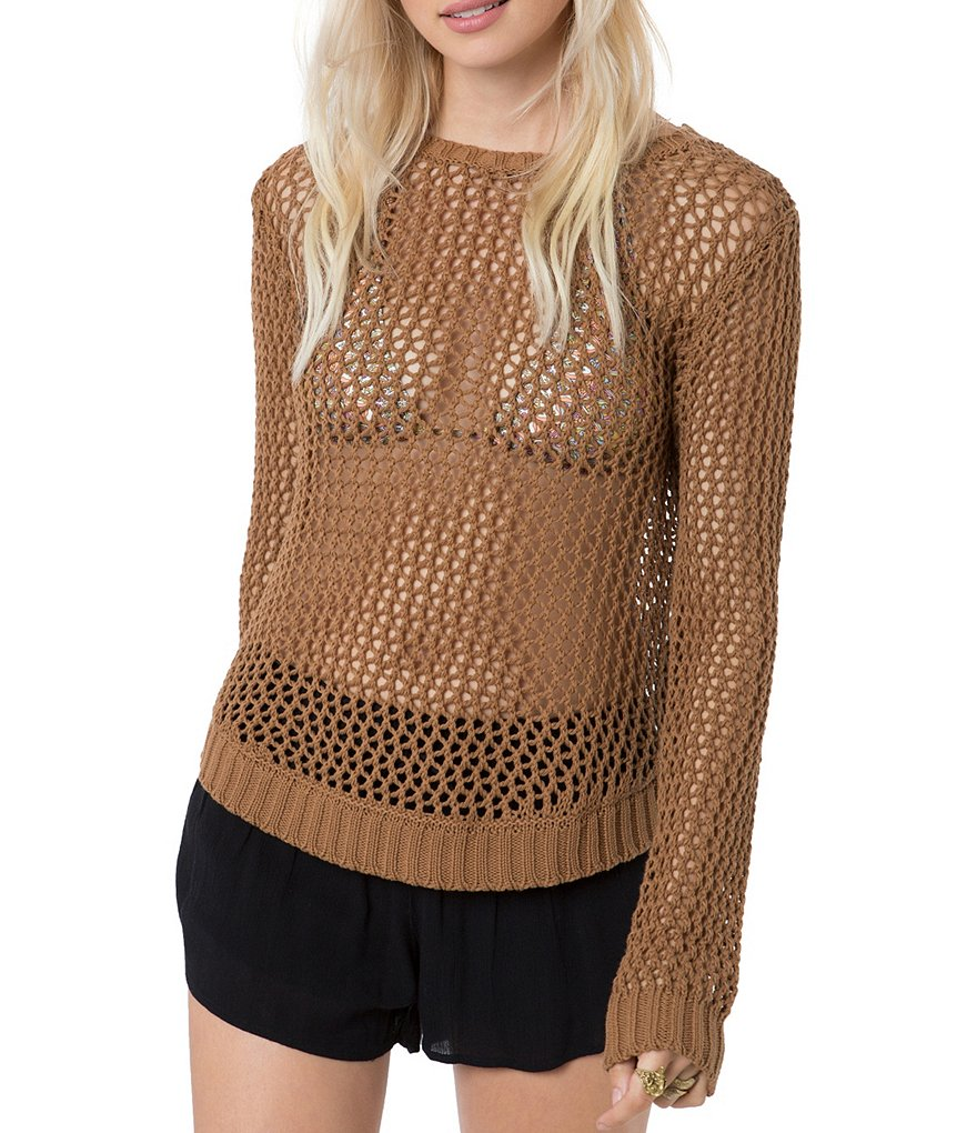 O´Neill Open-Knit Slouchy Escape Sweater