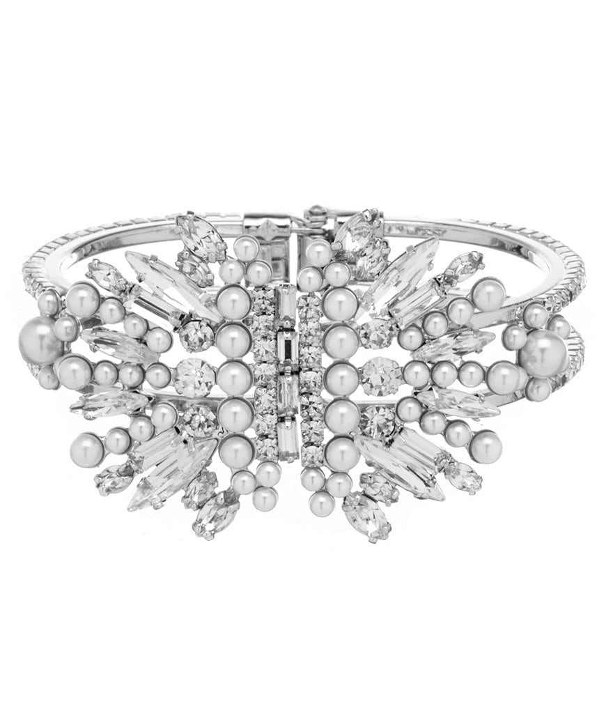 Belle Badgley Mischka Fan Dancer Cuff Bracelet