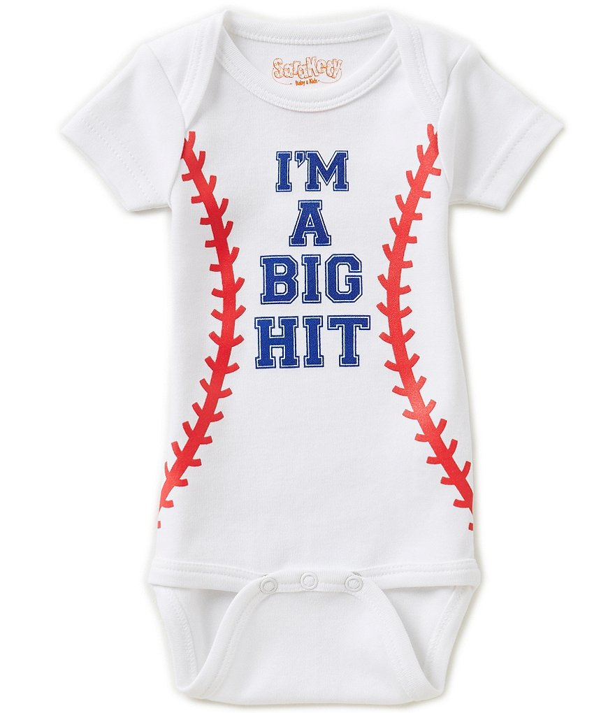 Sara Kety Baby Boys Newborn-18 Months I´m A Big Hit Bodysuit