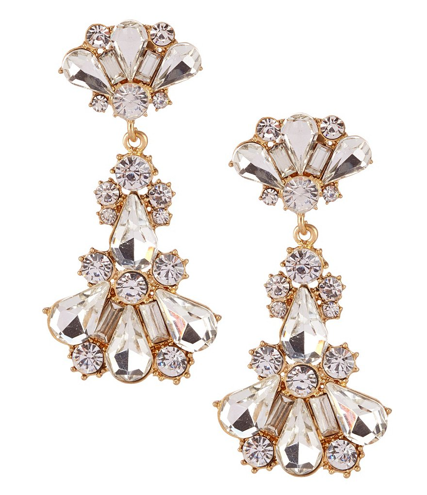 Belle Badgley Mischka Venice Chandelier Statement Earrings
